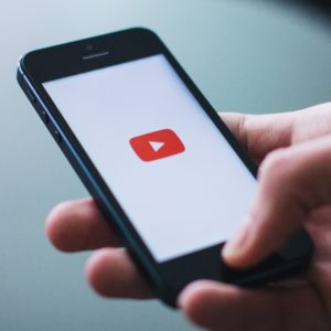 Viewing YouTube videos on a mobile device